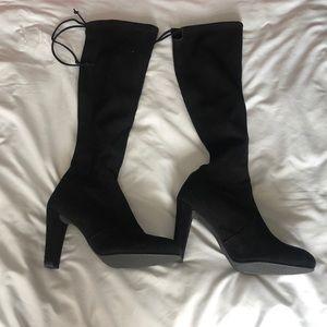 Stuart Weitzman Calf Heel Boots